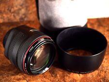 Canon EF 85mm f/1.2 AF II L USM Lens - UC Date Code - Near-Mint