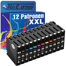 12 Patronen XXL ProSerie für Canon PGI-29XL Pixma Pro 1