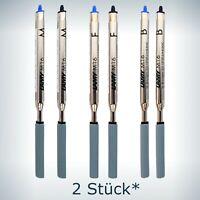LAMY Kugelschreiber Minen M16 Großraumminen Blau Schwarz M F B  *2 Stück*