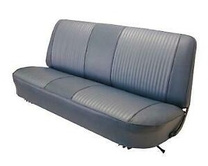 Ford F100 Custom Std Cab Pickup Seat Upholstery for Front Bench 1967-1972