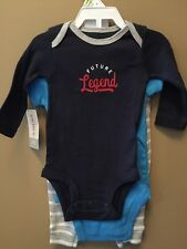 Boy's 3 Months 3pc Set Baseball Future Legend Outfit New Nwt Bodysuit Pants