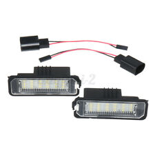 2x LED Number License Plate Light Lamp For VW GOLF MK4 MK5 Polo Canbus w ≈
