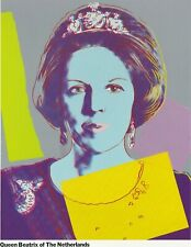 ANDY WARHOL REIGNING QUEENS EXHIBITION CATALOGUE LIMITED EDITION 1985 SCARCE
