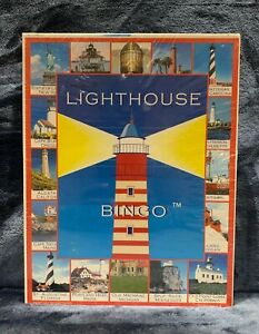 Lighthouse Bingo by Lucy Hammett Family Fun Board Game Brand NEW Sealed