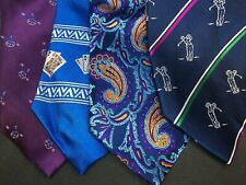 NEW AND LINGWOOD 100% SILK TIES, VARIOUS STYLES