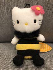 New ListingRare Bee Hello Kitty 1998 Plush Doll