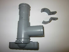 DRAINAGE WASTE WATER DRAINAGE TAP 28 MM FOR CARAVANS & MOTORHOMES - GREY