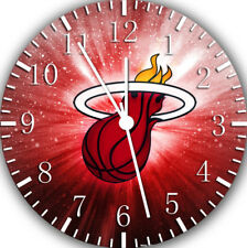 Miami Heat Frameless Borderless Wall Clock Nice For Gifts or Decor W60