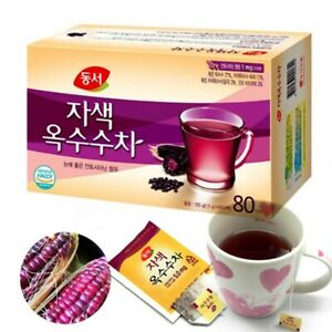 Korean DONGSUH Purple Corn Tea 80 Tea bags (1.5g x 80 Tea)