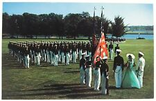United States Naval Academy Navy Color Girl Annapolis Maryland Vintage Postcard