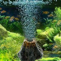 Aquarium Vulkan Form & Luftblase Stein Sauerstoffpumpe Aquarium D4W5 Orname M0G5