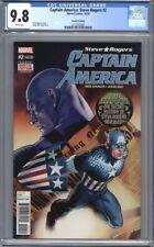 Captain America: Steve Rogers #2  Hail Hydra Marvel Comics  2nd Print CGC 9.8