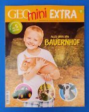 Geo mini  Extra Nr.11 aus 2018 alles über den Bauernhof  ungelesen 1A abs. TOP