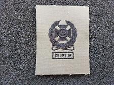 (a4-101) US schiessabzeichen Bw Olive expert rifle noir tissu insigne