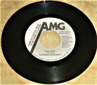 45 RPM VINYL RECORD by CLARENCE DOUGHERTY / AMG RECORDS 8035-1 (1978)