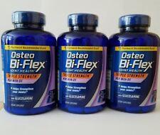 3pk Lot Osteo Bi-Flex Triple Strength 200x3 600 Tablets Glucosamine MSM D3 08/20