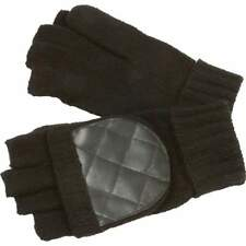 Casual Outfitters Men's Convertible Black Gloves/Mittens
