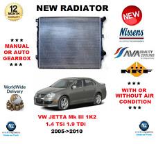 Para VW Jetta Mk III 1K2 1.4 TSI 1.9 Tdi 2005- > 2010 Radiador** OE Calidad**
