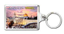 JERUSALEM ISRAEL MOD2 KEYRING SOUVENIR LLAVERO