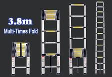 Telescopic Aluminum Expandable Lightweight/Portable Ladder Indoor/Outdoor DIY