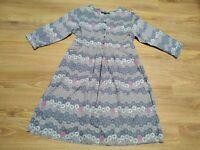 Gudrun Sjoden Scandinavian design organic cotton solid multicolour dress size S