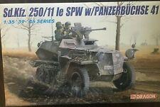 1/35 German Sd.Kfz. 250/11 le SPW w/ Panzerbuchse 41 ~ DRAGON DML #6132