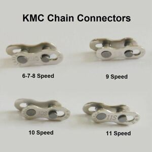 2 packs Bike Speed Missing Quick Master Magic Chain Connector Link 6/7/8 & 9 &10