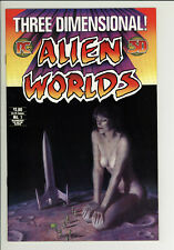 Alien Worlds 3-D with Glasses - High Grade Sci-Fi Comic - 9.4 NM