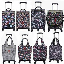 Shopping Bag Tote Cart Trolley Storage Organizer Folding Portable Large Capacity