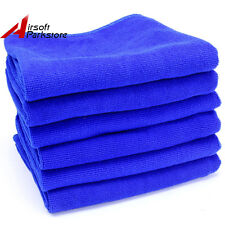6X Microfiber Cleaning Cloth Towel Rag Car Polish Detailing No-Scratch 70*30cm