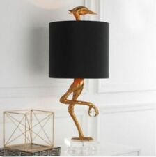 Ibis Table Lamp Heron Crane Bird Whimsical Table Lamp - 05206 Black Shade