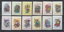 Multi-Coloured Superb Australian Pre-Decimal Stamps