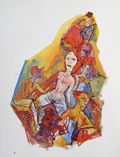 George Grosz childbirth Nude Erotic Brothel nightlife Berlin FREE Cigar