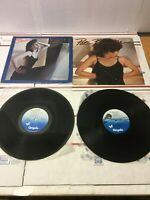 PAT BENATAR LP Lot of 2 Heat of the Night & Crimes of Passion Chrysalis Records