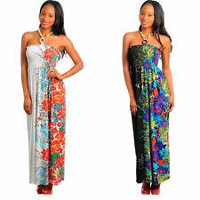 WHOLESALE Floral Long DRESSES LOT OF 12  S M L  Black,White