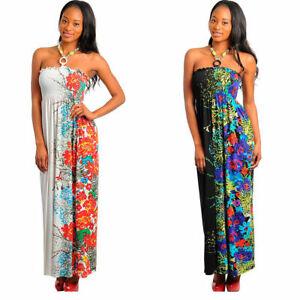 WHOLESALE Floral Long DRESSES LOT OF 12  S M L  White,Black