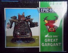1997 Epic Ork Great Gargant Games Workshop Warhammer Orc Super Heavy Walker MIB