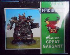 1997 Epic Ork Grandes Juegos taller Warhammer orco Gargant Super Pesada Walker MIB