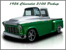 Fully Restored 1955 Chevrolet Cameo Pickup Truck New Metal Sign