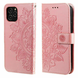 Woman Leather Wallet Case Flip Cover For iPhone 13 12 Pro Max 11 XS XR 8 7 6Plus