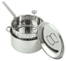 Bayou Classic 1101 Stainless Steel 10 Qt. Fry Pot NEW