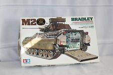 Vintage Tamiya 1/35 Model Kit M2 Bradley IFV Tank WW2 Infantry Fighting Vehicle