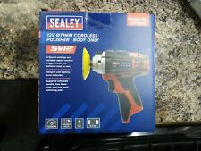 Sealey Cordless Polisher Buffer 12V 71mm Variable Speed Li-ion Body Only & pads