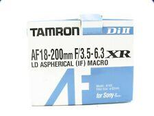 Tamron AF 18-200 mm, F/3.5-6.3 LD Di-II XR Asph IF Objektiv für Sony A-Bajonett