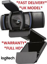 NEW Logitech C920 S HD Pro Webcam 1080p Video 960-001252 UK MODEL