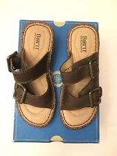 Born girls sandal brown size 13 31 New in box