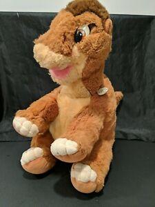 "1988 Gund ~Little Foot~ The Land Before Time Dinosaur 16"" Plush Stuffed Animal"
