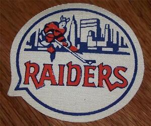 VINTAGE 1972-73 New York Raiders WHA Hockey Jersey Patch SUPER RARE!!! *P8