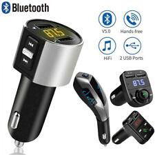 Bluetooth 5.0 FM Transmitter KFZ Auto MP3 Player USB SD AUX Freisprechanlage DHL
