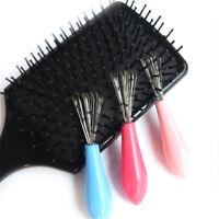 Peine cepillo de pelo limpiador de limpieza remover incrustado peine plást*ws